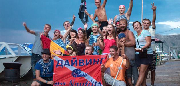 Групповые занятия дайвингом в Nautilus Dive Club
