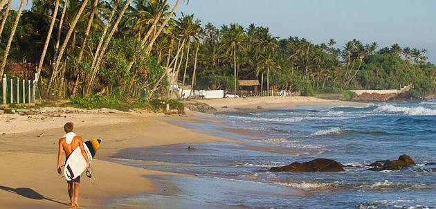Серф лагерь Hakula на Шри-Ланке